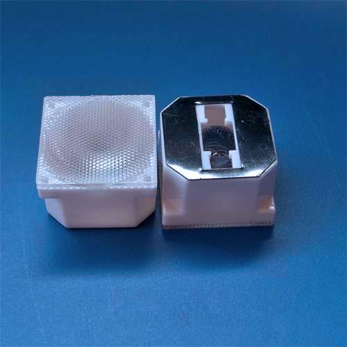 30degree Square 21.4mm Led lens for OSRAM Golden Dragon LEDs(HX-OS-30L)