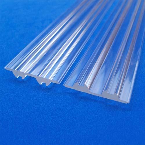 Linear Plain Strip LED lens and Linear lighting series Led lens for SMD3535,3030,3528,5630 ,5730 LEDs(HX-LPS-4507)