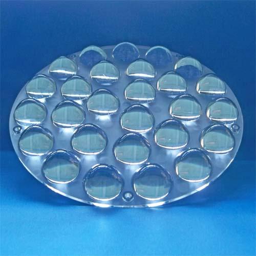 3~60degree Diameter 210mm 27in1 Dimmable Lighting LED lens for CREE |OSRAM|Citizen|Bridgelux COB LEDs(HX-CD210x27)