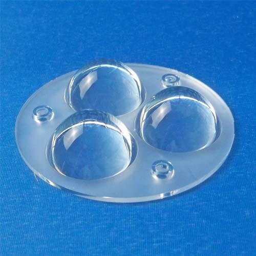 3~60degree Diameter 73mm 3in1 Dimmable Lighting LED lens for CREE |OSRAM|Citizen|Bridgelux COB LEDs(HX-CD73x3)