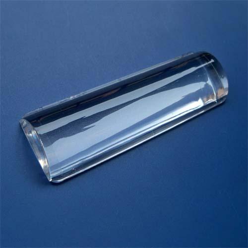 4 5 X 120degree Half Cylinder Led Lens For Industrial